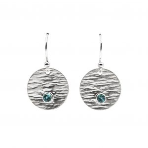 round-sterling-silver-earrings-with-gemstones